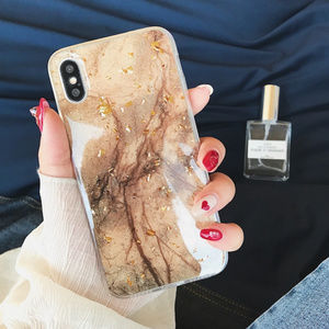 Accessories - Marble iPhone Case 7 8 Plus X XS XR Max Gold